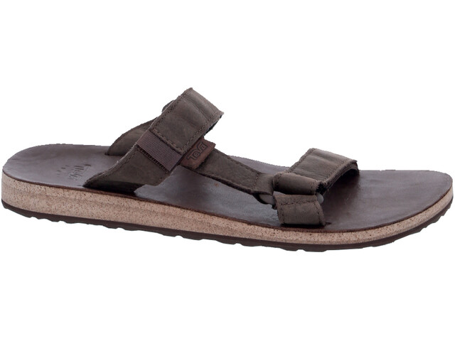 78b6a5dbefa3e Teva Universal Slide Leather Sandals Men brown at Addnature.co.uk